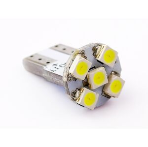 Interlook LED auto žárovka LED W5W T10 5 SMD 3528 CAN BUS FRONT